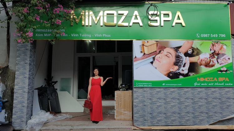 Cập nhật danh sách các điểm Mimoza Spa