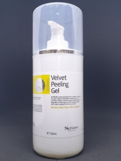 Velvet Peeling Gel Skindom 500ml - tẩy da chết