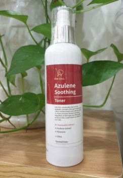 Azulene Soothing Toner - Nước hoa hồng Vda Cell