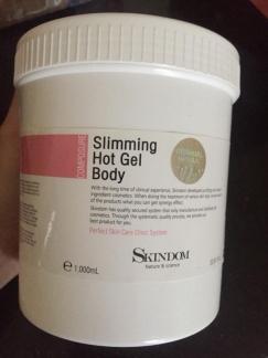 Slimming Hot Gel Body - Gel nóng giảm béo toàn thân