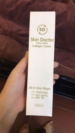 Skin Doctor Perfect White Collagen Cream - Kem dưỡng trắng sáng da