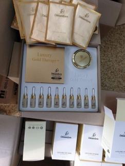 Luxury Gold  Therapy +  Mặt nạ vàng ( bộ)