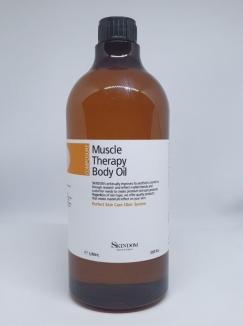 Muscle Therapy Body Oil 1000ml Skindom - dầu trị liệu cơ bắp