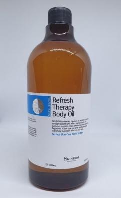 Refresh Therapy Body Oil 1000ml Skindom - Tinh dầu trị liệu