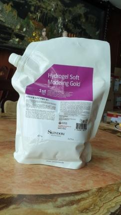 Hidrogel Soft Modeling Gold Skindom - Mặt nạ từ vàng